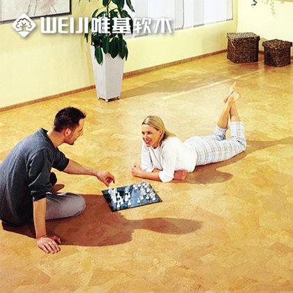 软木复合弹性地板