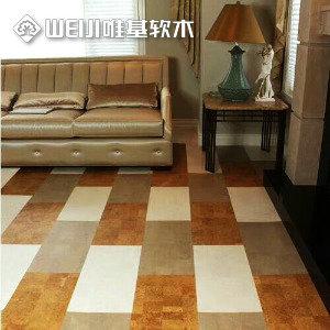拼花软木复合地板