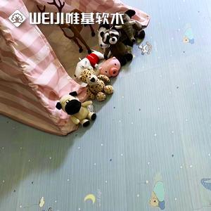 软木地板儿童房系列