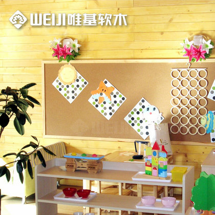 木框软木板