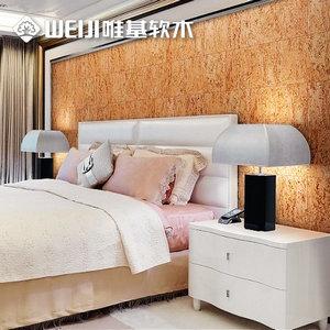 床头软木背景墙