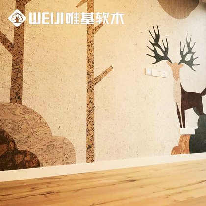 定做软木墙板
