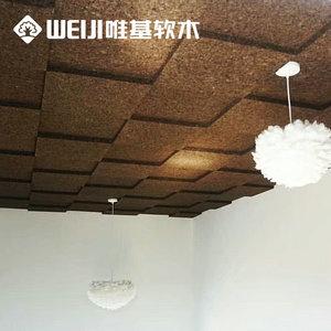 吊顶碳化软木墙板