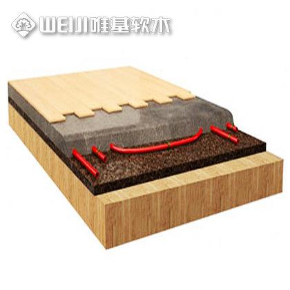 地热软木地垫