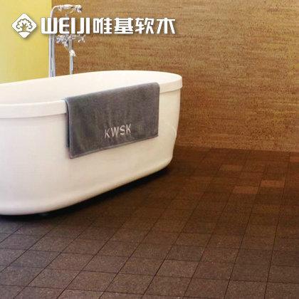 浴室软木地板