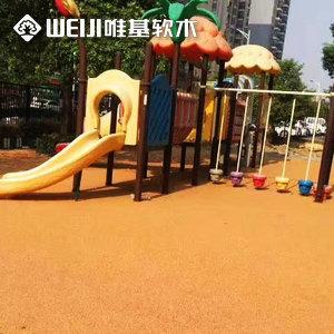 生态软木路面儿童乐园