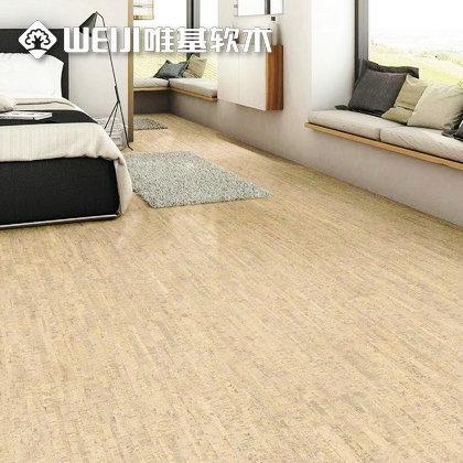 浅色软木地板