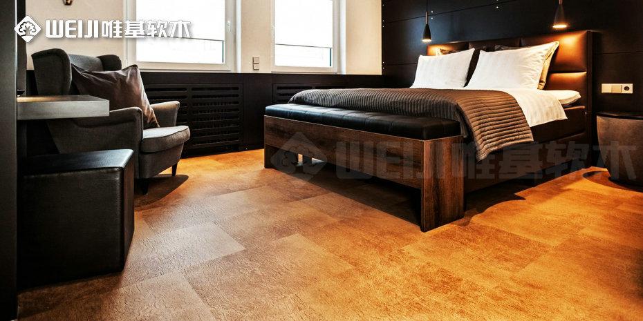 牛皮软木地板