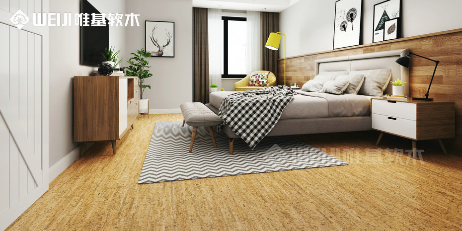 进口软木复合地板