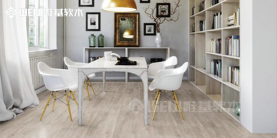 PVC软木弹性地板