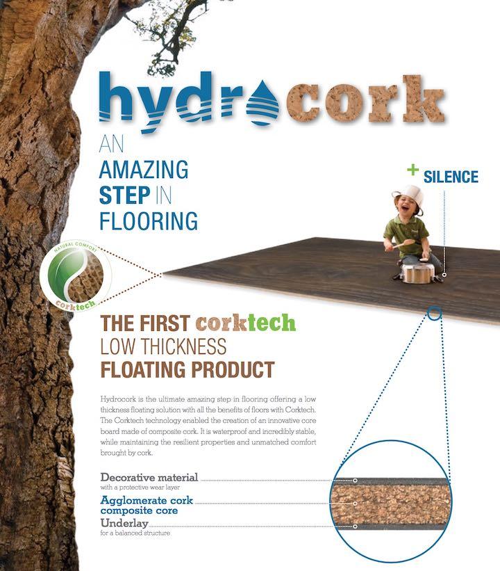 hydrocork软木地板