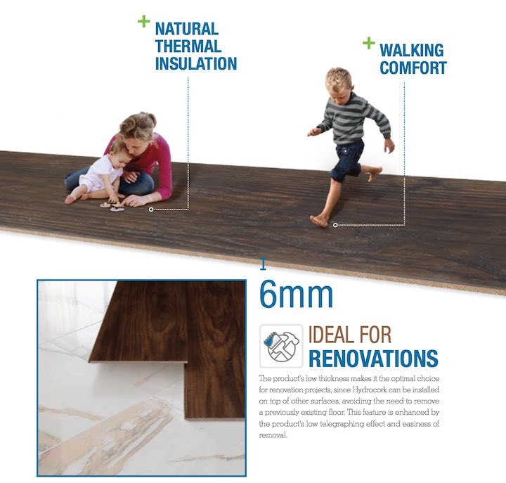 hydrocork阿默林软木地板