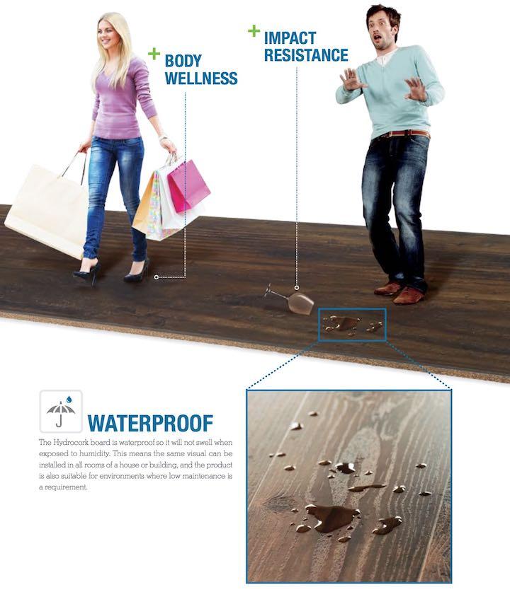 hydrocork防水软木地板