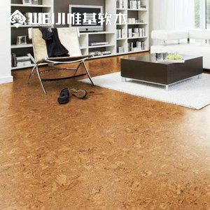 粘贴软木地板