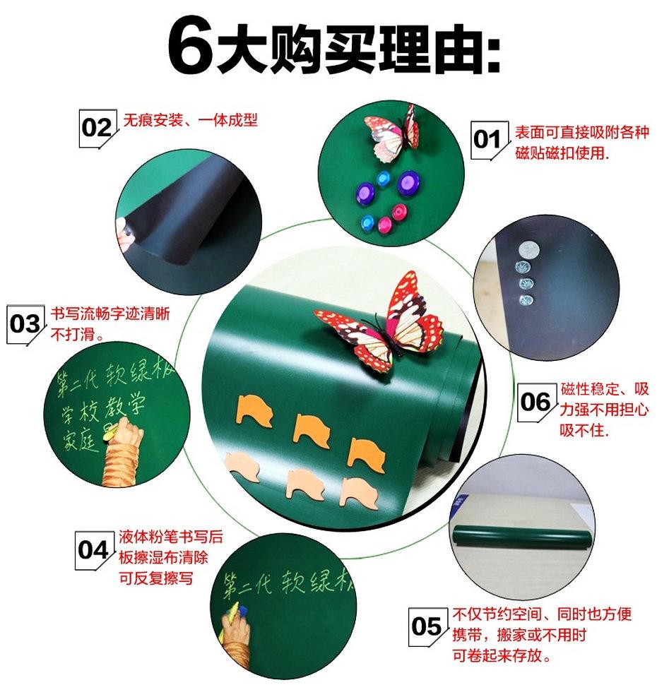 软绿板优点