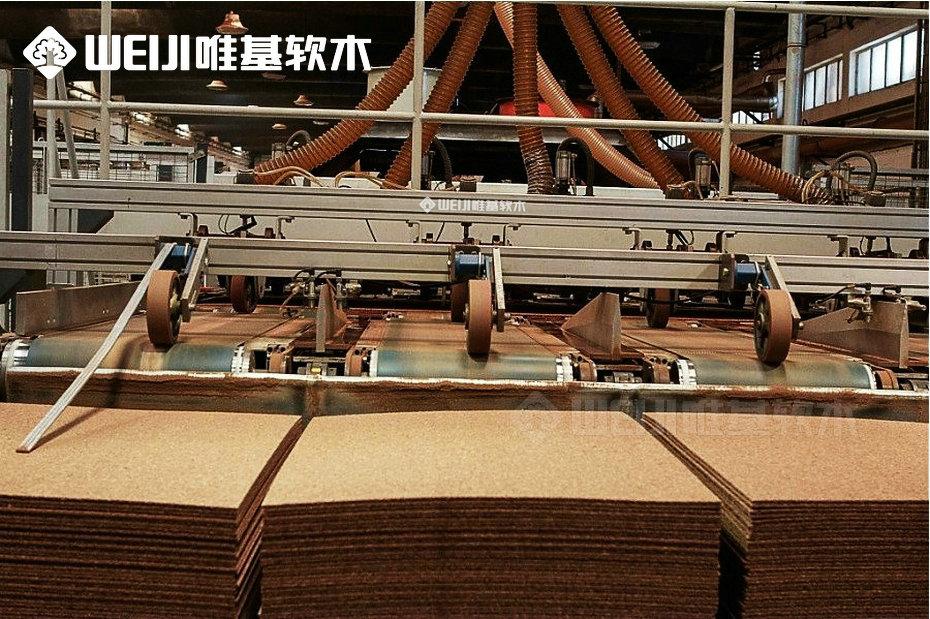 软木片材工厂