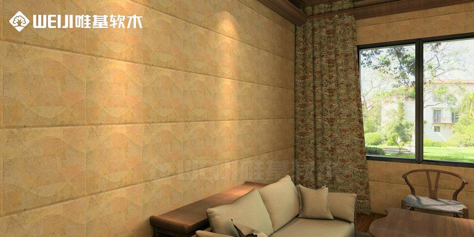 软木皮雕背景墙