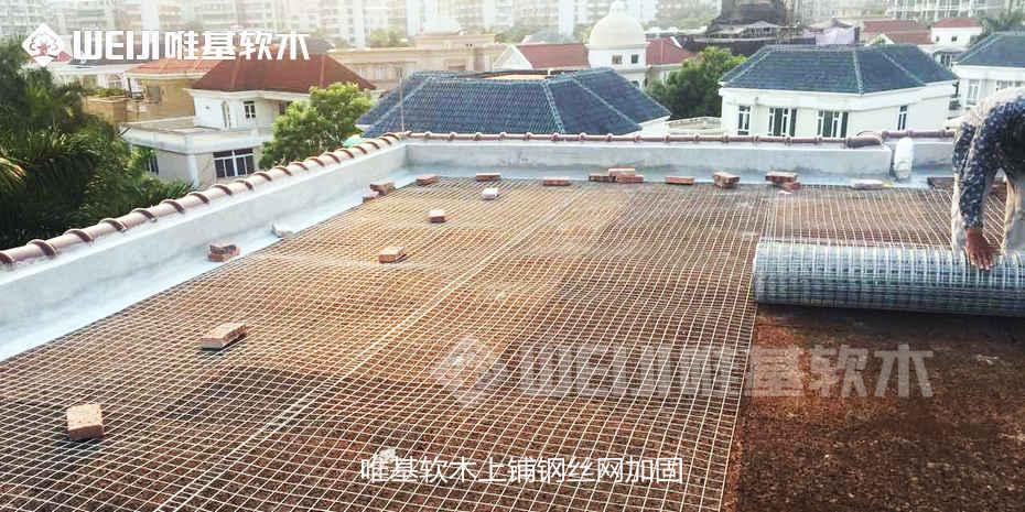 屋顶隔离软木板